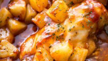 Barbecue Pineapple Chicken Recipe