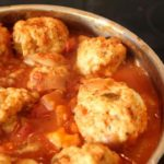 Rustic Chicken Meatballs With Tomato Sauce Recipe
