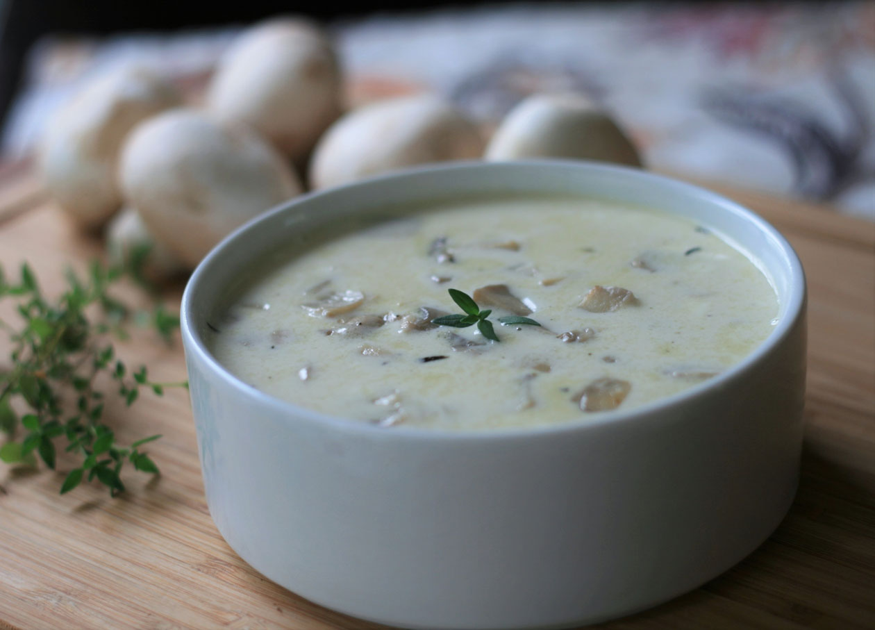 Keto Low Carb Cream Of Mushroom Soup Recipe Page 2 Of 2 Recipes A To Z