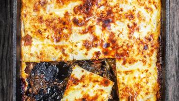 Moussaka Recipe: Eggplant Casserole