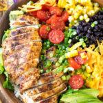 Southwest Salad with Lime Vinaigrette Recipe
