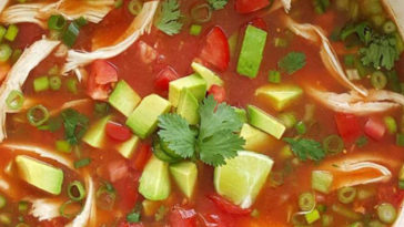 The Best Chicken Tortilla Soup recipe - Recipes A to Z - recipesaz easy chicken recipes #chicken #chickenrecipes easy tortilla recipes #tortilla #tortillarecipes #chickentortilla easy soup recipes #soup #souprecipes #chickensoup easy crock pot recipes #crockpot #crockpotrecipes easy chicken crock pot recipes