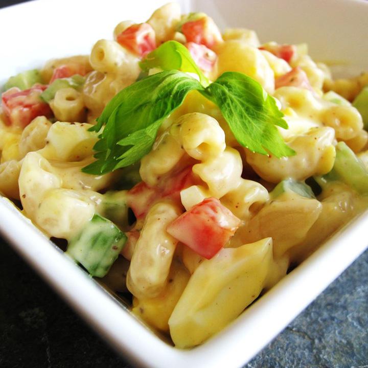 Amish Macaroni Salad Recipe