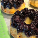 Blueberry Upside-Down Mini Cakes Recipe
