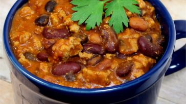 Quick Slow Cooker Turkey Chili Recipe