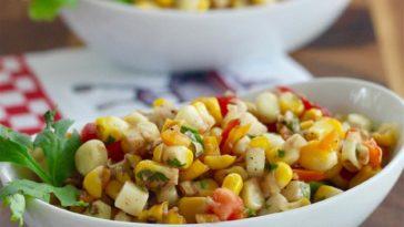 Kate's Grilled Corn Salad Recipe