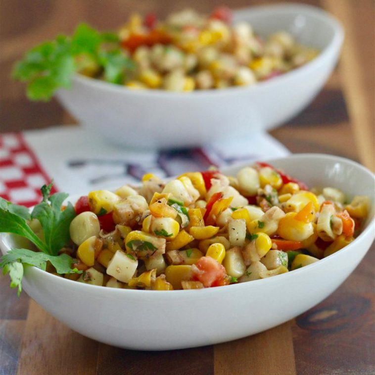 Kate's Grilled Corn Salad Recipe