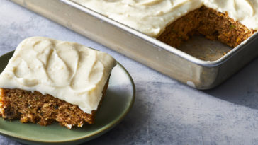 Zucchini Bars with Spice Frosting recipe