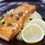 Quick Salmon Piccata Recipe