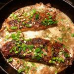 Brandy Flamed Peppercorn Steak Recipe