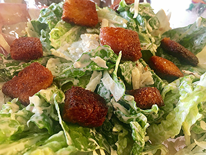 Caesar Salad Supreme Recipe