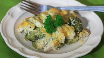Cheesy Broccoli and Chicken Casserole Recipe