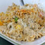Chicken and Pasta Casserole with Mixed Vegetables Recipe