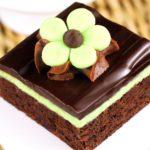 Chocolate Mint Dessert Brownies Recipe
