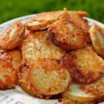 Crispy Crunchy Parmesan Potatoes Recipe