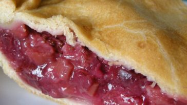 Fresh Rhubarb Pie Recipe
