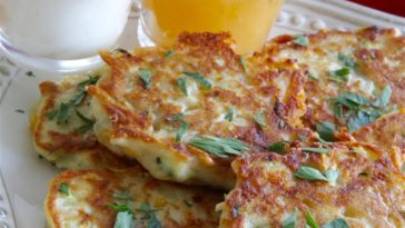 Irish Zucchini and Potato Pancakes Recipe