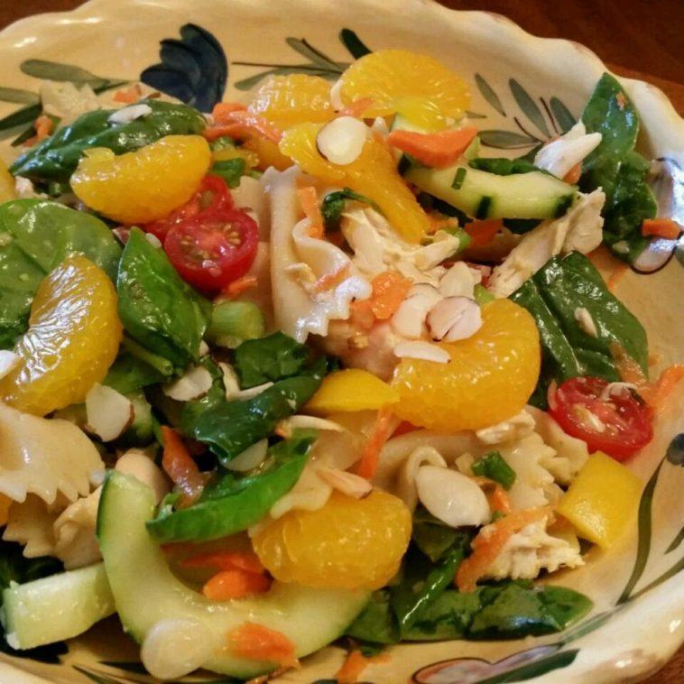 Mandarin Chicken Pasta Salad Recipe