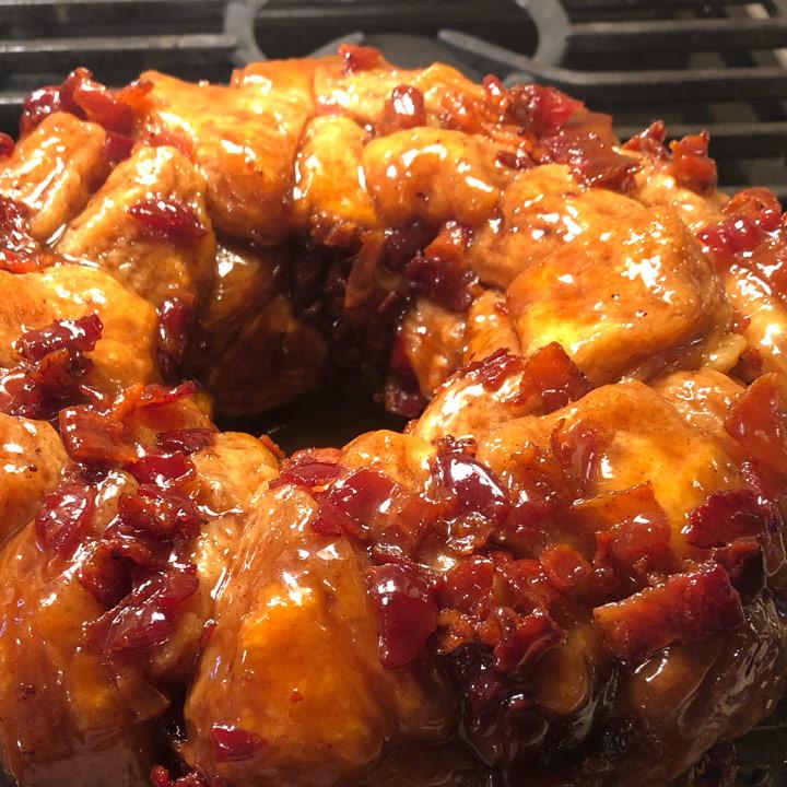 Maple Bacon Monkey Bread Recipe
