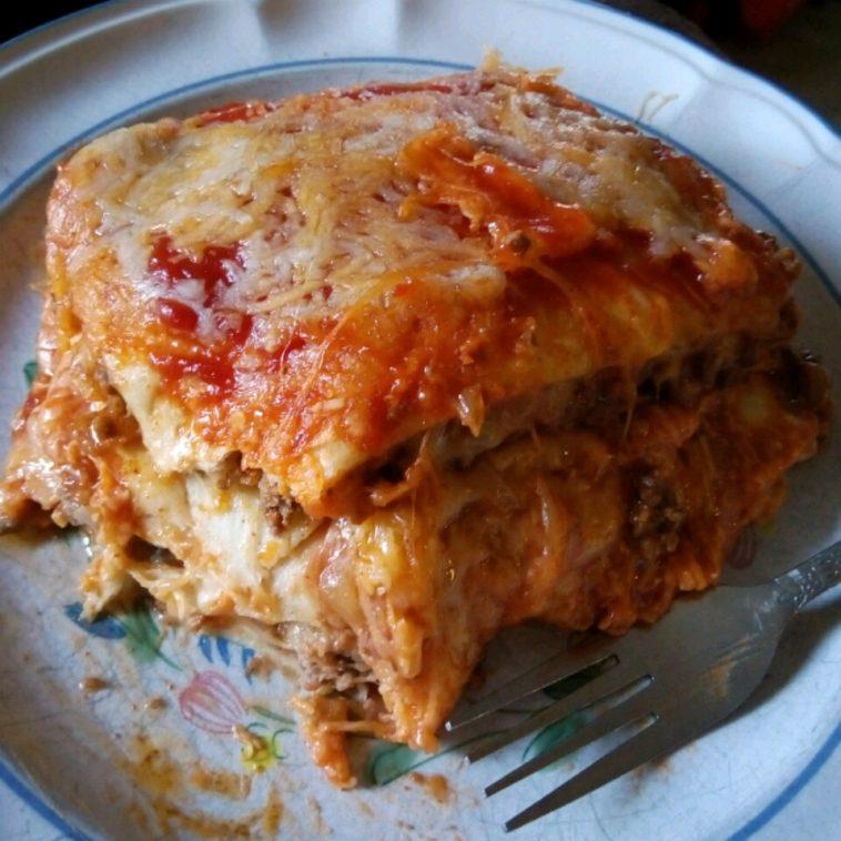 Mexican Lasagna Recipe - No Lasagna Noodles