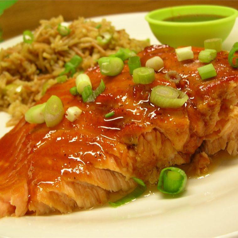 Pepper-Honey Cedar Plank Salmon Recipe