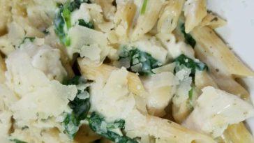 Pesto Chicken Florentine Recipe