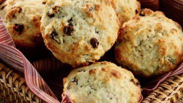 St. Patrick's Day : Irish Soda Bread Muffins Recipe