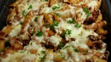 Baked Penne with Italian Sausage Recipe
