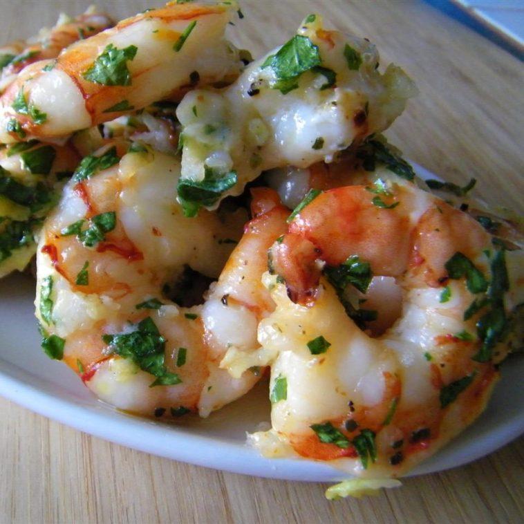 Simple Garlic Shrimp Recipe