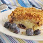 Sour Cream Blueberry Coffee Cake Recipe