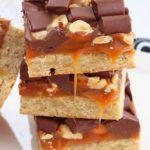 Sweet and Salty Caramel Chocolate Bars Recipe