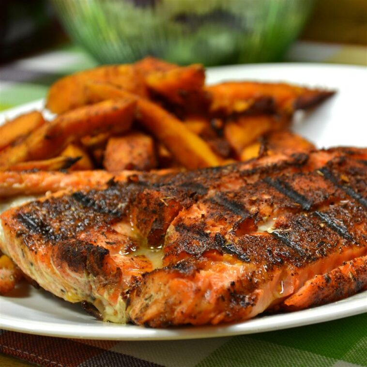 Blackened Salmon Fillets Recipe