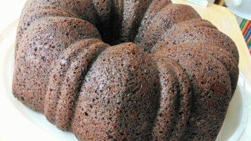 Chocolate Cavity Maker Cake Recipe