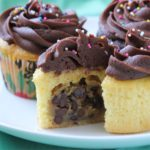 Chocolate Chip Cookie Dough + Cupcake Recipe
