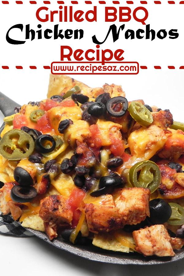 Grilled BBQ Chicken Nachos Recipe