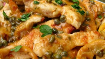 Lemon Chicken Piccata Recipe