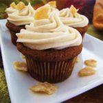Pumpkin Ginger Cupcakes Recipe