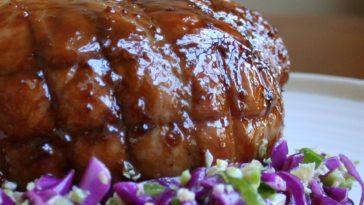 Roast Pork with Maple and Mustard Glaze Recipe
