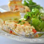 Sour Cream Chicken Quiche Recipe