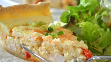 Sour Cream Chicken Quiche Recipe