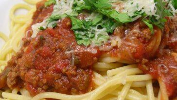 Spaghetti Sauce with Ground Beef Recipe