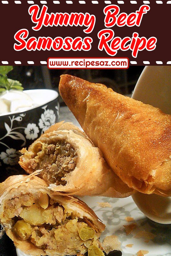 Yummy Beef Samosas Recipe