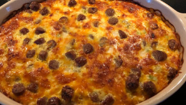 Yummy Sausage Casserole Recipe