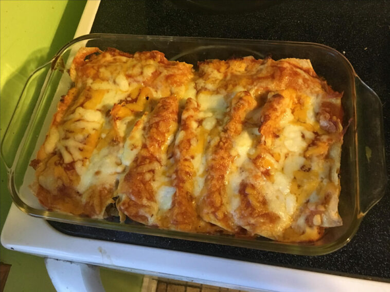 Bacon-Ranch Chicken Enchiladas Recipe