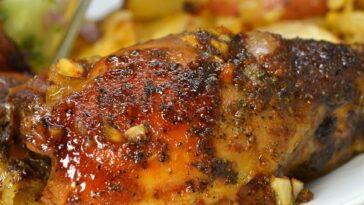 Honey-Garlic Slow Cooker Chicken Thighs Recipe