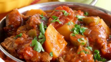 Slow Cooker Spanish Beef Stew Recipe
