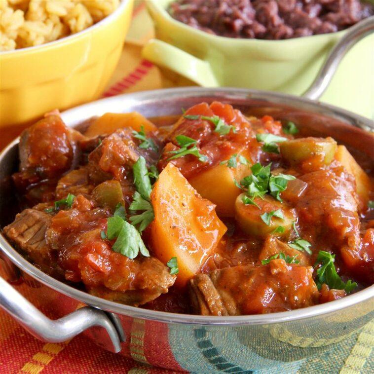 Slow Cooker Spanish Beef Stew Recipe
