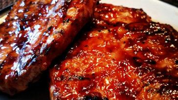 World's Best Honey Garlic Pork Chops Recipe