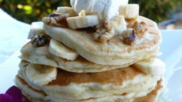 Yummy Banana Pancakes Recipe