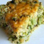 Cheesy Broccoli and Rice Casserole Recipe #cheesy #broccoli #rice #casserole #cheesyrecipes #broccolirecipes #ricerecipes #broccolicasserole #ricecasserole #casserolerecipes #recipes #recipesaz